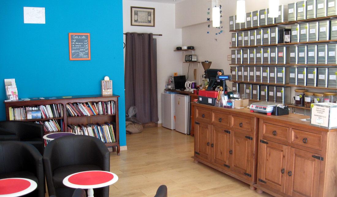 Salon de thé En Aparthé
