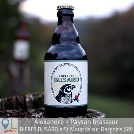 Bière de terroir BUSARD au seigle 33cl
