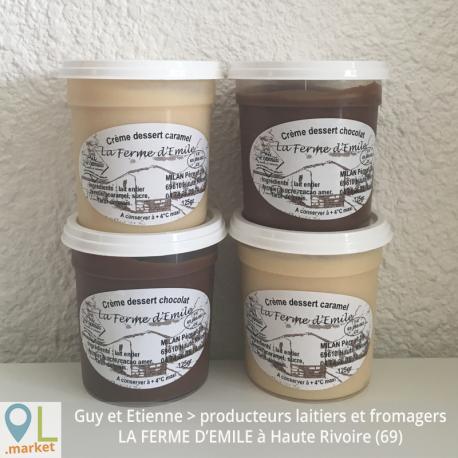 Crèmes Dessert  (Par 4)