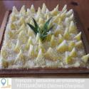 Tarte ananas citron vert/coco huile essentielle de combava