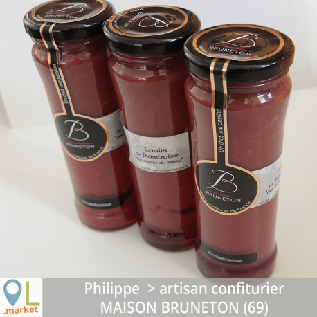 Coulis de framboise du Velay (20 Cl)