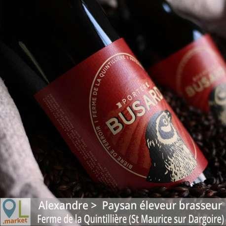 Bière de terroir BUSARD Porter 33cl