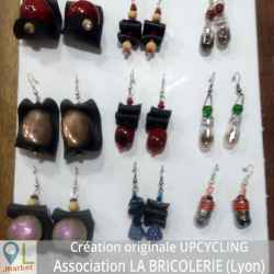 "Boucles ""Upcycling"" création 2017"