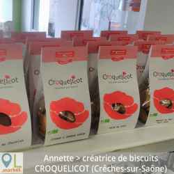 Petits biscuits à croquer et partager sucrés BIO (sachet de 130 g )