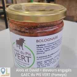 Sauce bolognaise (bocal de 380 g)