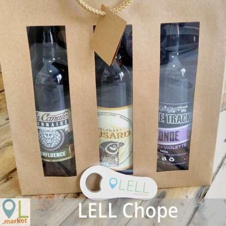 LELL Chope (3 bières 75 cl au choix + 1 bonus)