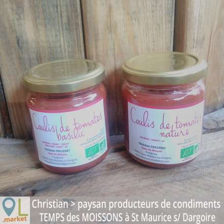 Coulis de tomates BIO (370 ml)