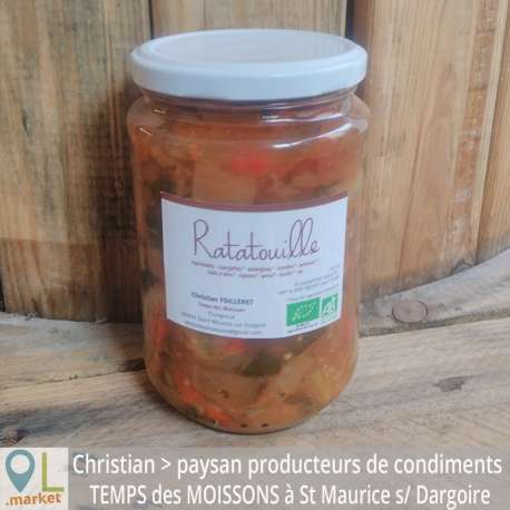Ratatouille BIO (750 ml)