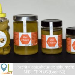 Miel d'Acacia - Origine Saône et Loire