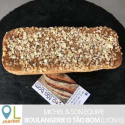 Pain pauvre en gluten (400g env)