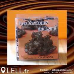 """Spécialité Chocolat """"Les Grattons de Lyon"""" (200 g)"""
