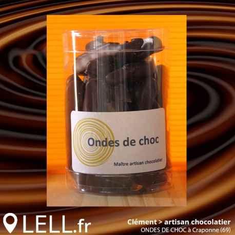 Orangettes chocolat noir (150 g)