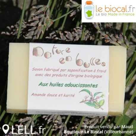 Savon aux huiles adoucissantes Nature en bulles