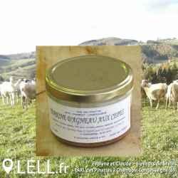 Terrine d'agneau aux cèpes (180 gr)