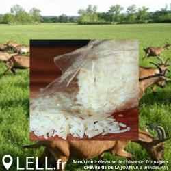 Râpé de chèvre (env. 80gr)