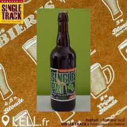 """Bière Single Track Ambrée Réglisse """"Saint-Patrick"""" (33 & 75Cl)"""