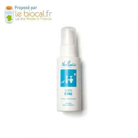 Néobulle Bien être - huile de massage écologique et biologique