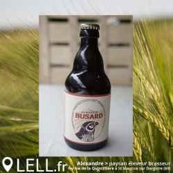 Bière de terroir BUSARD Ambrée 33cl