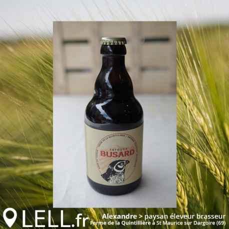 Bière de terroir BUSARD Stout 33cl