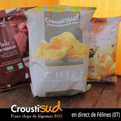 Chips de pomme de terre (100g)