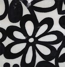 Fleurs Noir et Blanc